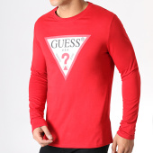 /achat-t-shirts-manches-longues/guess-tee-shirt-manches-longues-m93i57k8fq0-rouge-183130.html