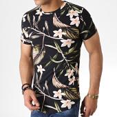 /achat-t-shirts-longs-oversize/john-h-tee-shirt-oversize-it-020-noir-floral-183184.html