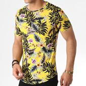 /achat-t-shirts-longs-oversize/john-h-tee-shirt-oversize-it-007-jaune-floral-183188.html