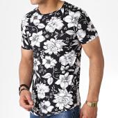 /achat-t-shirts-longs-oversize/john-h-tee-shirt-oversize-it-025-noir-blanc-floral-183196.html