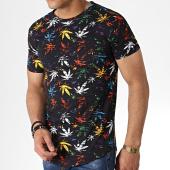 /achat-t-shirts-longs-oversize/john-h-tee-shirt-oversize-it-023-noir-floral-183197.html