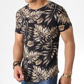/achat-t-shirts-longs-oversize/john-h-tee-shirt-oversize-it-014-noir-beige-floral-183203.html