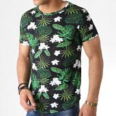 /achat-t-shirts-longs-oversize/john-h-tee-shirt-oversize-it-013-noir-vert-floral-183215.html