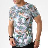 /achat-t-shirts-longs-oversize/john-h-tee-shirt-oversize-it-017-bleu-clair-bandana-serpent-183218.html