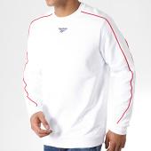 /achat-sweats-col-rond-crewneck/reebok-sweat-crewneck-a-bandes-classique-blanc-rouge-183045.html