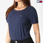 https://www.laboutiqueofficielle.com/achat-t-shirts/tommy-jeans-tee-shirt-femme-soft-jersey-6901-bleu-marine-183001.html