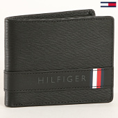 /achat-portefeuilles/tommy-hilfiger-portefeuille-textured-leather-mini-4819-noir-183047.html