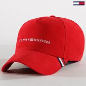 /achat-casquettes-de-baseball/tommy-hilfiger-casquette-uptown-cap-4849-rouge-183058.html