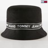 /achat-bobs/tommy-hilfiger-jeans-bob-logo-tape-4913-noir-183064.html