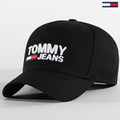 /achat-casquettes-de-baseball/tommy-hilfiger-jeans-casquette-logo-cap-4968-noir-183074.html