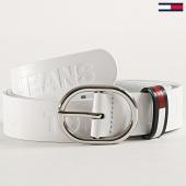 /achat-ceintures/tommy-hilfiger-ceinture-femme-flag-aw0aw06859-blanc-183110.html