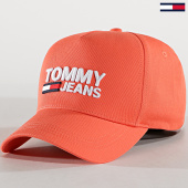 /achat-casquettes-de-baseball/tommy-hilfiger-jeans-casquette-femme-logo-cap-7037-rose-183131.html