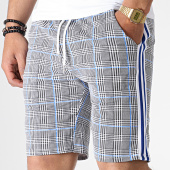 /achat-shorts-jogging/uniplay-short-jogging-a-carreaux-avec-bandes-go55-noir-blanc-bleu-183031.html