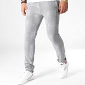 /achat-pantalons-carreaux/uniplay-pantalon-chino-a-carreaux-5027-noir-blanc-183062.html