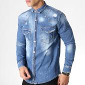/achat-chemises-manches-longues/uniplay-chemise-jean-manches-longues-044-bleu-denim-183103.html