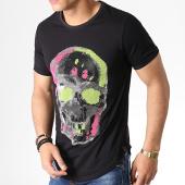 /achat-t-shirts-longs-oversize/uniplay-tee-shirt-oversize-a-strass-df303-noir-argente-183115.html