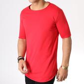 /achat-t-shirts-longs-oversize/uniplay-tee-shirt-oversize-kxt-14-rouge-183138.html