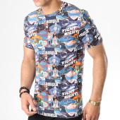 /achat-t-shirts/uniplay-tee-shirt-uy407-noir-bleu-marine-183140.html