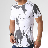 /achat-t-shirts-longs-oversize/ikao-tee-shirt-oversize-f527-blanc-gris-anthracite-183398.html