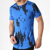 /achat-t-shirts-longs-oversize/ikao-tee-shirt-oversize-f527-bleu-noir-183400.html