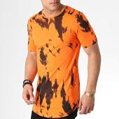 /achat-t-shirts-longs-oversize/ikao-tee-shirt-oversize-f527-orange-noir-183402.html