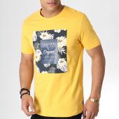 /achat-t-shirts/jack-and-jones-tee-shirt-floral-tropicana-jaune-183334.html