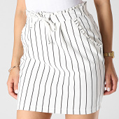 /achat-jupes/only-jupe-femme-a-rayures-catia-blanc-noir-183403.html