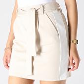 /achat-jupes/only-jupe-femme-a-bandes-poptrash-easy-belt-beige-blanc-183406.html