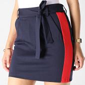/achat-jupes/only-jupe-femme-a-bandes-poptrash-easy-belt-bleu-marine-rouge-183410.html