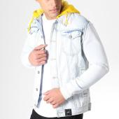 /achat-vestes-jean/sixth-june-veste-jean-a-capuche-m3192hja-bleu-clair-jaune-183309.html
