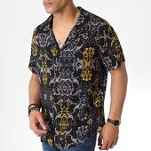 /achat-chemises-manches-courtes/sixth-june-chemise-manches-courtes-m60005vsh-noir-jaune-183311.html