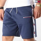 /achat-shorts-jogging/tommy-sport-short-jogging-avec-bandes-tape-0135-bleu-marine-183342.html