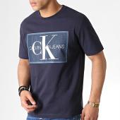 /achat-t-shirts/calvin-klein-tee-shirt-monogram-icon-2477-bleu-marine-183420.html