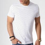 /achat-t-shirts/calvin-klein-tee-shirt-hero-aop-2755-blanc-noir-183436.html