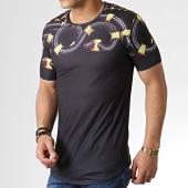 /achat-t-shirts-longs-oversize/ikao-tee-shirt-oversize-serpent-f538-noir-183439.html