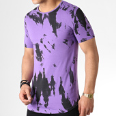 /achat-t-shirts-longs-oversize/ikao-tee-shirt-oversize-f527-violet-noir-183443.html