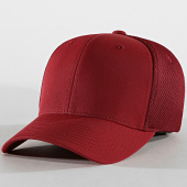 /achat-fitted/flexfit-casquette-fitted-tactel-mesh-bordeaux-183552.html