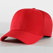 /achat-fitted/flexfit-casquette-fitted-tactel-mesh-rouge-183554.html