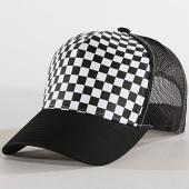 /achat-trucker/flexfit-casquette-trucker-checkerboard-retro-noir-blanc-183561.html