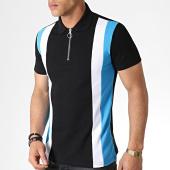 /achat-polos-manches-courtes/frilivin-polo-manches-courtes-zippe-ap7238-noir-bleu-turquoise-blanc-183575.html