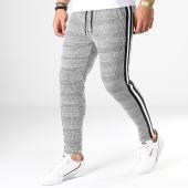 /achat-pantalons-carreaux/frilivin-pantalon-a-carreaux-avec-bandes-1593-noir-blanc-183587.html