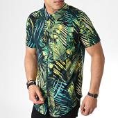 /achat-chemises-manches-courtes/frilivin-chemise-manches-courtes-floral-bm1043e-noir-vert-jaune-183608.html