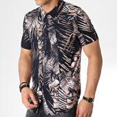 /achat-chemises-manches-courtes/frilivin-chemise-manches-courtes-floral-bm1043e-bleu-fonce-rose-183609.html