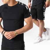 /achat-ensembles-survetement/frilivin-ensemble-tee-shirt-oversize-et-short-a-bandes-floral-5168-noir-blanc-183653.html