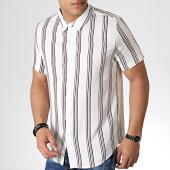 /achat-chemises-manches-courtes/frilivin-chemise-manches-courtes-a-rayures-bm1043d-ecru-bordeaux-noir-183659.html