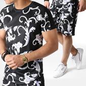/achat-ensembles-survetement/frilivin-ensemble-tee-shirt-oversize-et-short-floral-5168-noir-blanc-violet-183661.html