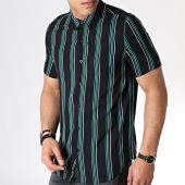 /achat-chemises-manches-courtes/frilivin-chemise-manches-courtes-a-rayures-bm1043d-noir-vert-blanc-183677.html