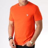 /achat-t-shirts/guess-tee-shirt-slim-m93i51j1300-orange-183715.html