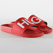/achat-claquettes-sandales/hugo-by-hugo-boss-claquettes-time-out-slip-50411426-rouge-blanc-183429.html