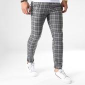 /achat-pantalons-carreaux/ikao-pantalon-carreaux-f574-gris-183427.html